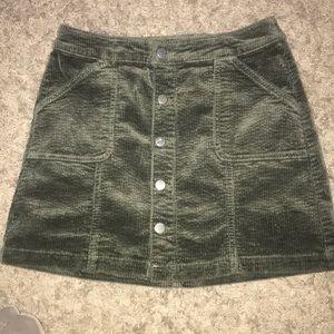 Wild Fable corduroy skirt